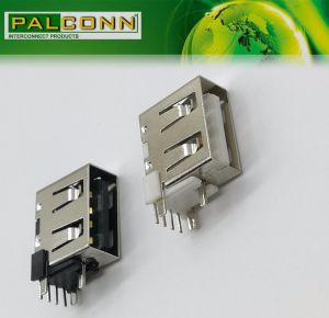 Rated Current~4A! USB2.0 Type a Female Connector for Power Adaptor, Power Bank pictures & photos