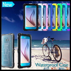 New Version Waterproof Snowproof Case Cover for Samsung Galaxy S6 and S6 Edge