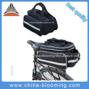 Shoulder Waterproof Bicycle Bike Rear Seat Handbag Pannier Trunk Bag pictures & photos