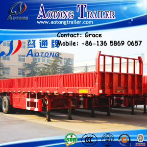 Cargo Trailer, Side Board Semitrailer, Side Boards Flatbed Semi Trailer, Flatbed with Side Wall, Open Side Board Cargo Semi Trailer, Sidewall Semi Trailer pictures & photos
