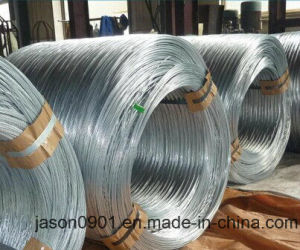 0.4mm to 6.30mm Galvanized High Carbon Spring Steel Wire pictures & photos