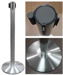 Stainless Steel Retractable Belt Queue Stand (DS21) pictures & photos