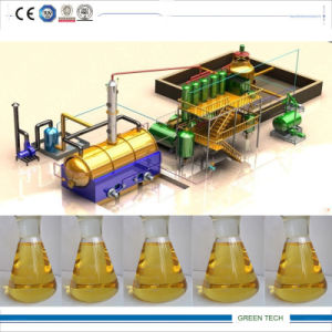 Waste Oil Recycling Plant Getting Yellow Color Diesel pictures & photos