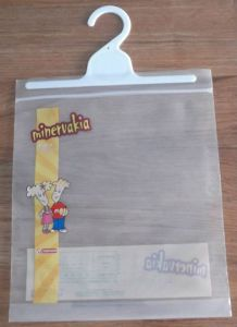Ziplock Bag with Hanger pictures & photos