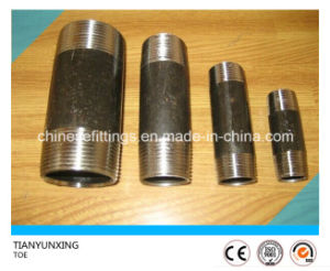 NPT/Bsp Male Threaded Stainless/Carbon Steel Nipple pictures & photos