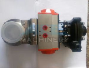 Stainless Steel Sanitary Pneumatic 3piece Ball Valve (ACE-QF-GD) pictures & photos