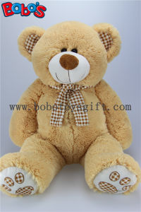 "19.7""Eco-Friendly Material Cute Kids Plush Toys, Stuffed Teddy Bear with Check Design Scarf pictures & photos"