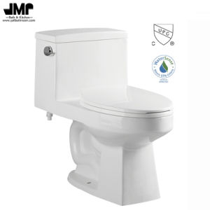2192 Cupc Wc Bathroom Sanitary Ware Siphonic One Piece Ceramic Toilet pictures & photos