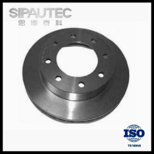 Iron Ventilated Disc Brake Rotor for Cadillac/Chevrolet (15718986) pictures & photos