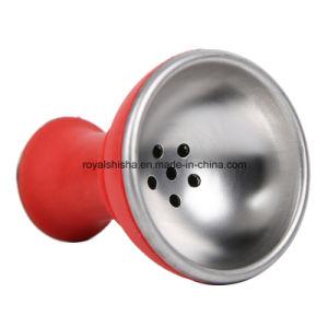 New Design Silicone Aluminum Hookah Head Shisha Bowl pictures & photos