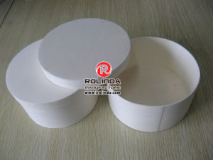 Round Wood Packing Box for Food pictures & photos