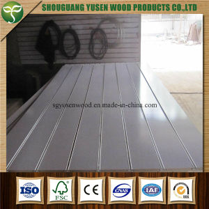 Different Colors Slotted MDF Board pictures & photos