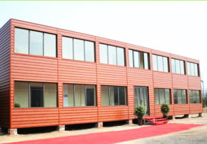 Modified Prefabricated Container House for Shop Office Accommodation pictures & photos