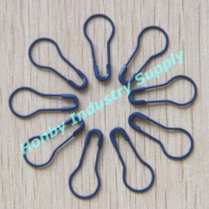 Honby Wholesale 22mm Blue Color Pear Shape Safety Pins pictures & photos