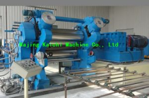 3 Rolls Rubber Calendering Machine for Rubber Sheeting