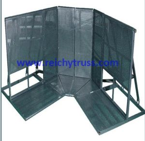 Aluminum Crowd Barrier, Stage Barrier (RY-AC-01) pictures & photos