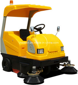Electric Industrial Road Cleaning Sweeper pictures & photos