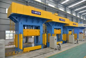 800 Tons CE Standard H Frame Hydraulic SMC Moulding Press pictures & photos