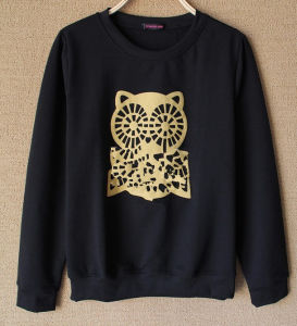 Long Sleeve Custom Leisure Fashion Cotton Women Sweater pictures & photos