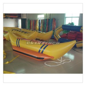 Good Design 3 Seats Single Row Inflatable Banana Split Boat