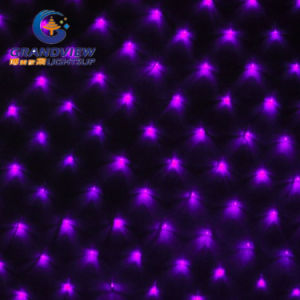 2m Width Purple Light LED Net Light with 8-Mode pictures & photos