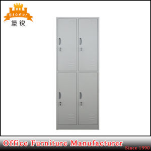 Popular Modern Simple Steel Clothes Storage Wardrobe Cabinet pictures & photos