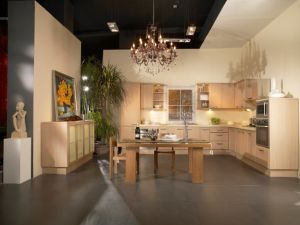 Grandshine New Design Wooden Kitchen Cabinetry pictures & photos
