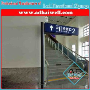 Custom Free Standing Indoor Signage for Airport or Rail Station pictures & photos