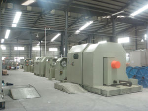 External Capstan Wheel Cantilever Bunching Machine (1000MM) pictures & photos