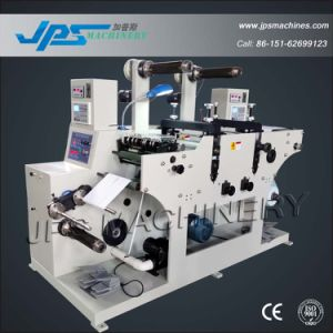 Jps-320c-Tr Double-Station Price Gun Label Roll Slitting & Die Cutting Machine pictures & photos