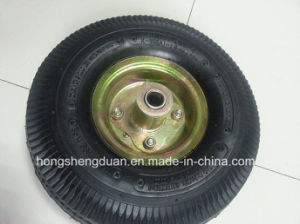 Professional Manufacturer 4.10/350-4 Wheelbarrow Pneumatic Wheel Rubber Wheel pictures & photos