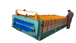 Dx 825 and 840 Double Layer Roof Tile Making Machine pictures & photos