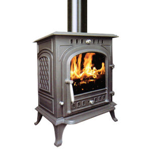 Indoors Cast Iron Stoves (FIPA071) 8kw Output Wood Burning Stove