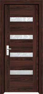 PVC Frosted Glass Bedroom Door (WX-PW-303) pictures & photos