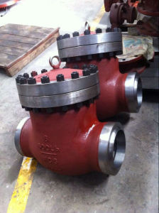 "High Temperature API 8"" Class600 Wc6 Swing Check Valve pictures & photos"