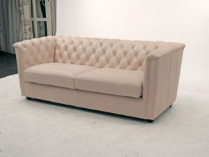 Italian Design Nubuck Leather Upholstered Living Room Furniture pictures & photos