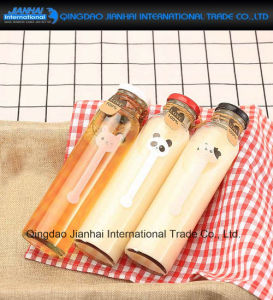 Glass Cold Drink Water Bottle with Mental Cap or Cork pictures & photos