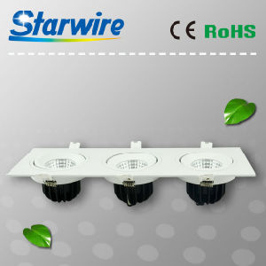 Cl36-B01 High Lumen Dimmable 36W COB LED Downlight pictures & photos