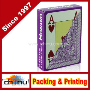 Modiano Italian Poker Game Playing Cards - Purple Poker - Large 4 Index - Single Card Deck - 100% Plastic (430146) pictures & photos
