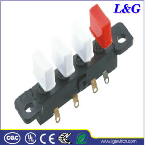 SGS Passed 4 Position Fan Push Button Switch (3800)