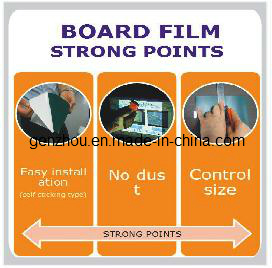 Blackboard Adhesive Film for Writting by Chalk or Inkpen as Whiteboard