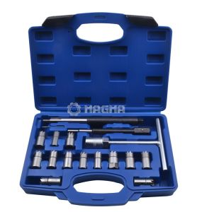 17 PCS Diesel Injector Seat Cutter Set-Motor Tools (MG50682) pictures & photos