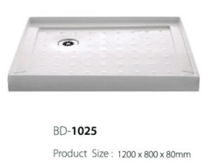 1.2 Meter Long Three Flange Antislip Surface Shower Tray (BD-1025) pictures & photos