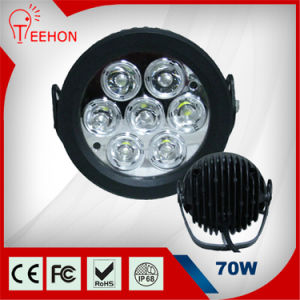 """6"""" 70W Round LED Work Light pictures & photos"""