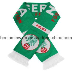 Nigeria National Flag Football Scarf