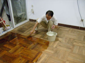 Maydos Flexible Wood Flooring Varnish Coating pictures & photos