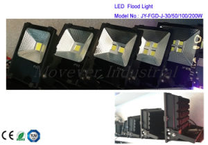 2016 New High Efficiency 4 COB LED Floodlight 200W pictures & photos