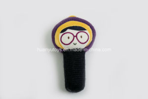 Factory Supply Knit Sweater Fabric Baby Toy of Bb Hand Rattle pictures & photos