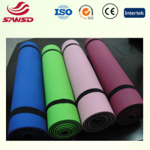 Comfortable Eco-Friendly Anti Slip EVA TPE Yoga Mat pictures & photos