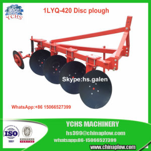 Agriculture Equipment Light Duty Disc Plough 1lyq-420 for Foton Tractor pictures & photos